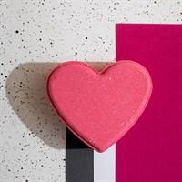 Бомба-сердце с ароматом Клубники